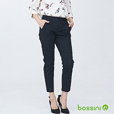 bossini女裝-彈性修身褲07黑