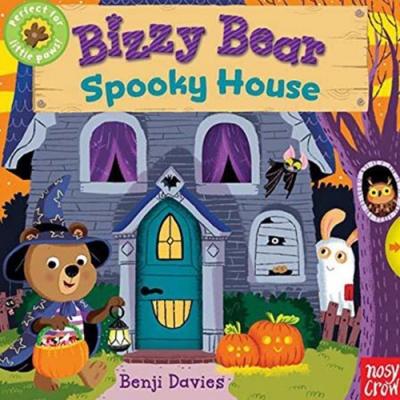 Bizzy Bear:Spooky House 鬼屋探險熊熊新奇操作書(美國版)