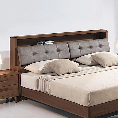 AS-蜜琪北歐雙人加大6尺床頭箱-182x30x101.5cm