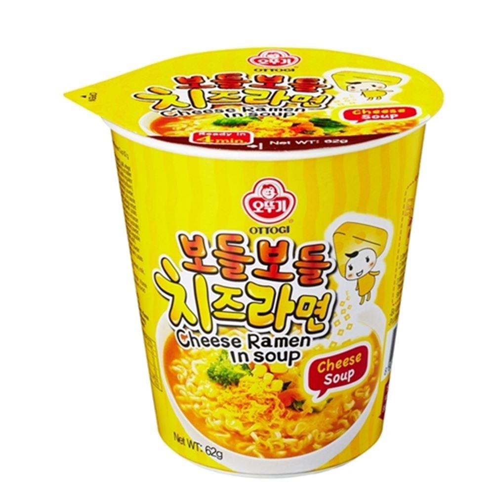 不倒翁 起司風味湯杯麵(62g)