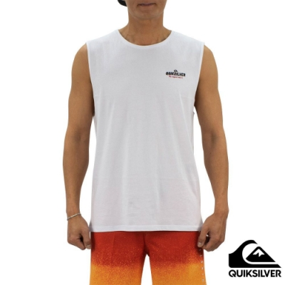 【QUIKSILVER】PLANET B MUSCLE 背心 白色