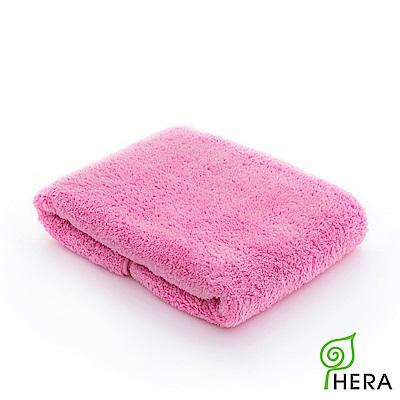HERA  3M專利瞬吸快乾抗菌超柔纖小浴巾-蜜桃紅