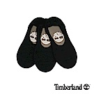 Timberland 情侶款黑色船形襪(3入) A1EB1