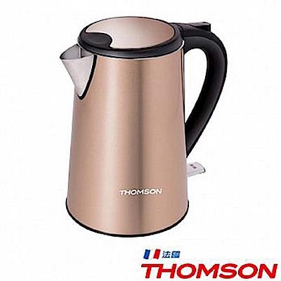 THOMSON 湯姆盛 TM-SAK13 1.5L雙層不鏽鋼快煮壺