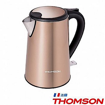 THOMSON 湯姆盛 TM-SAK13 <b>1</b>.5L雙層不鏽鋼快煮壺