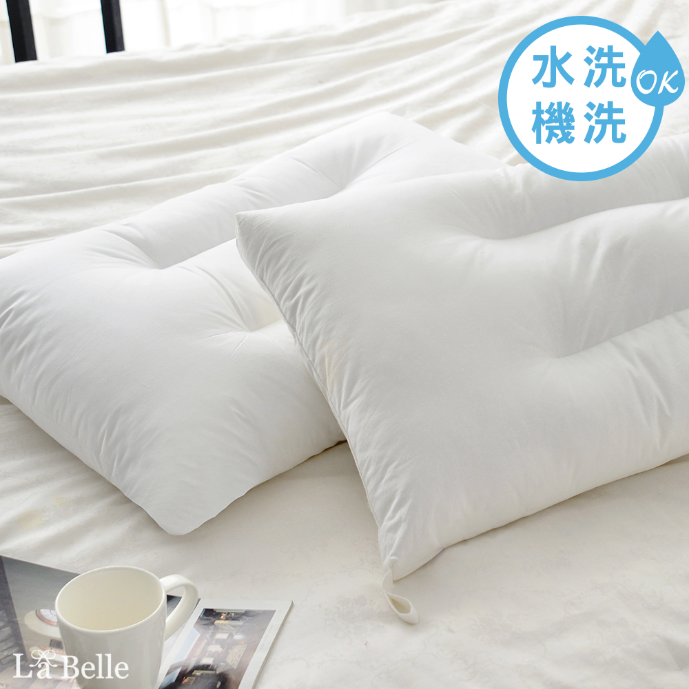 義大利La Belle 高效透氣抑菌小型水洗枕一入