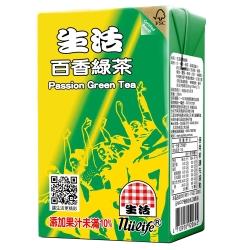 生活 百香綠茶(250ccx6入)