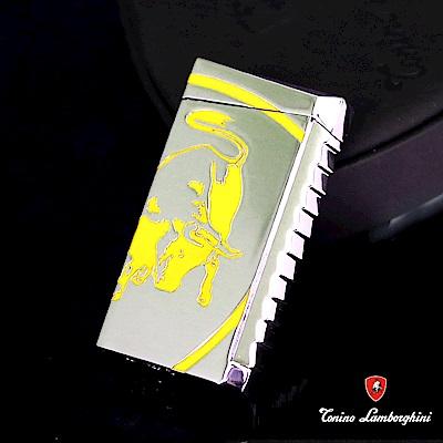 藍寶堅尼Tonino Lamborghini IL TORO LIGHTER打火機(銀黃)