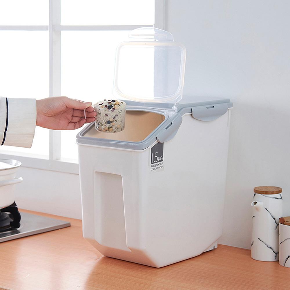 【Mr.Box】多功能密封收納保鮮儲糧米桶盒-大款