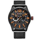 CURREN 卡瑞恩8247-個性石英商務仿三眼手錶 (4色任選)