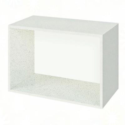 文創集 雷蒙 環保2尺南亞塑鋼開放式置物櫃/收納櫃-60x31x40cm免組