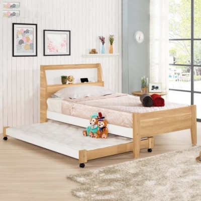 MUNA 卡爾3.5尺單人床(不含子床) 114X206X104cm