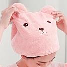 休閒加厚擦頭速乾髮帽 浴帽吸水帽子