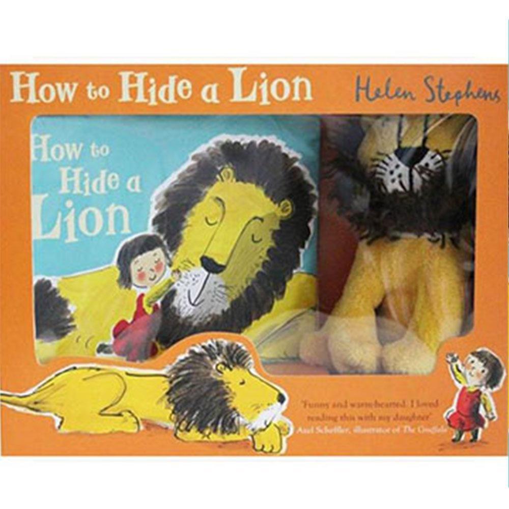 How To Hide A Lion Gift Set 獅子藏身大作戰禮物書