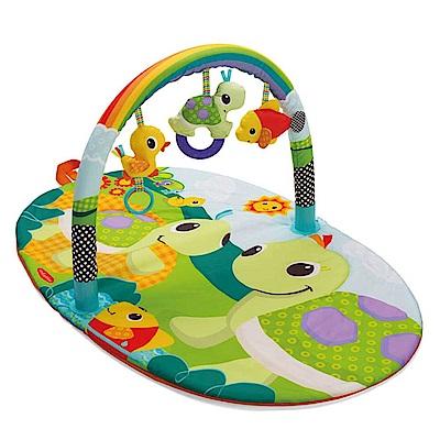 美國 Infantino 寶寶健身遊戲墊-田園樂園(0-3Y)
