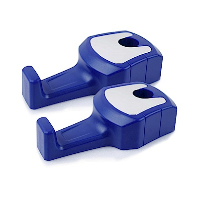 【車的背包】車用掛勾頭枕勾(特仕款)鑽寶藍