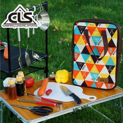 韓國CLS 移動廚房五件組 砧板 料理刀 剪刀 露營 野餐