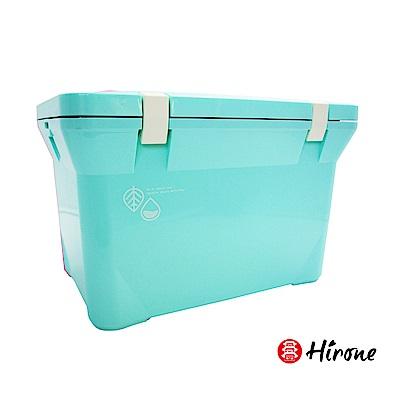 日本Hirone 繽紛假日便攜式大容量戶外冰桶15L 粉末藍(快)