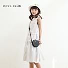 【MOSS CLUB】浪漫點點長版背心-洋裝(白色)