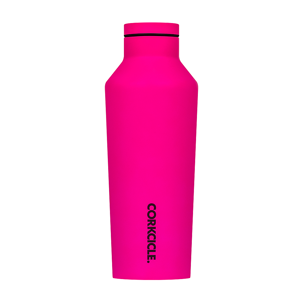 CORKCICLE Neon Lights系列三層真空易口保冰溫瓶270ml-三色