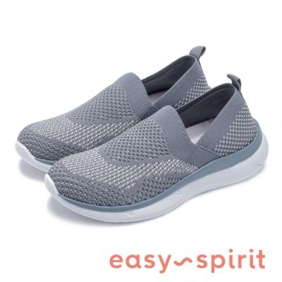Easy Spirit-seSAVANA2 紡織布面透氣舒適休閒鞋-針織鐵