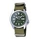 SEIKO 次世代5號潮流機械腕錶-銀X綠-SRPE65K1-40mm product thumbnail 1