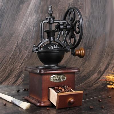 木暉 工業風復古鑄鐵手搖咖啡豆研磨機