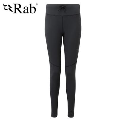 【RAB】Flux Pant Wmns 保暖內搭褲 女款 鯨魚灰 #QFF07
