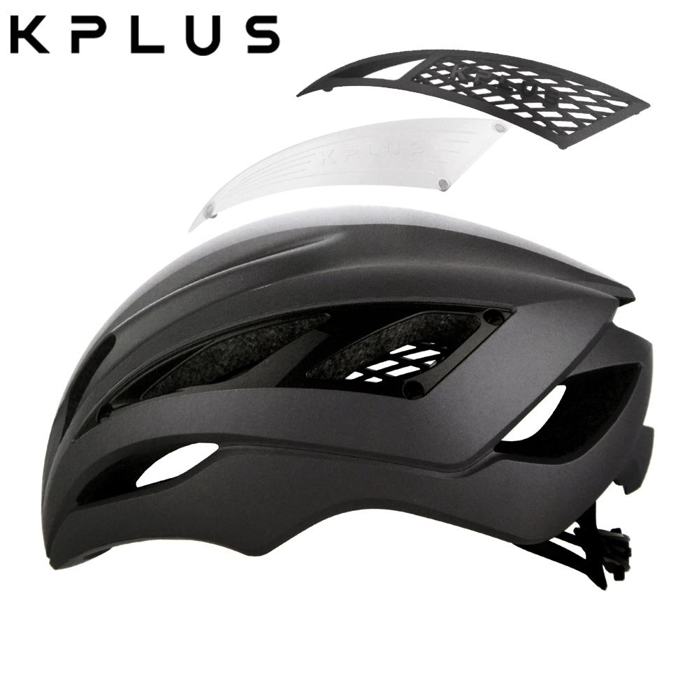 KPLUS 單車安全帽S系列公路競速ULTRA Helmet-霧黑色
