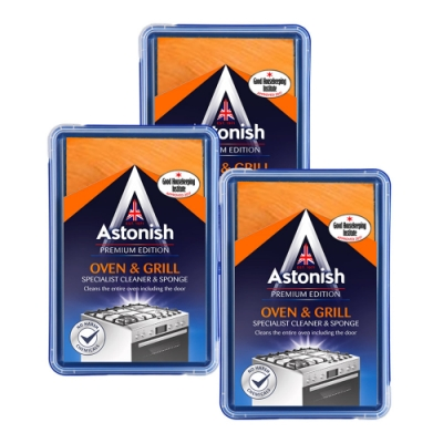 Astonish英國潔 速效廚房萬用去污霸3盒(500gx3)