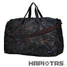 【HAPI+TAS】女孩小物折疊旅行袋(大)-男版軍綠迷彩
