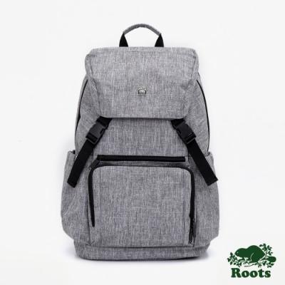 Roots配件-商務後背包-灰色
