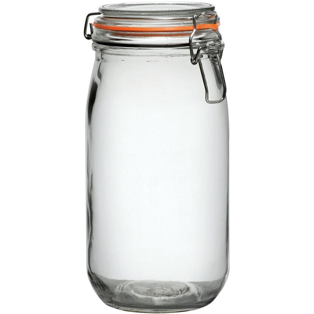 《Utopia》扣式玻璃密封罐(橘1.5L)