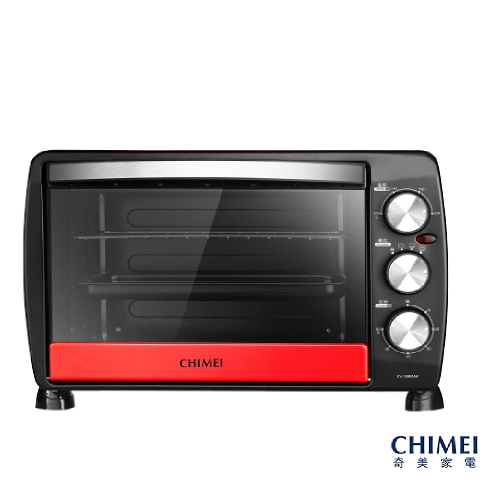 CHIMEI奇美 18公升家用電烤箱-莓果紅 EV-18B0AK-R