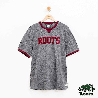 男裝Roots 原創短袖T恤-灰色