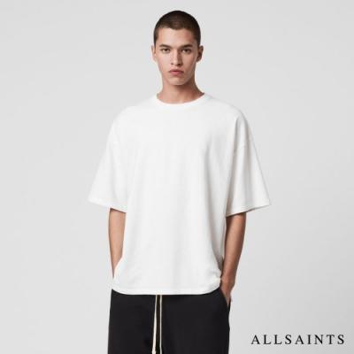 ALLSAINTS TONIC ISLANDERS 舒適寬鬆純棉短袖T恤-白