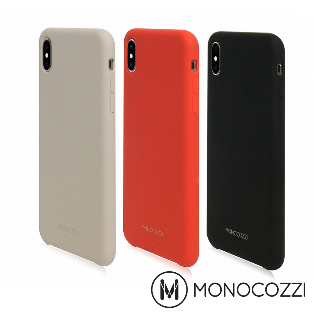 MONOCOZZI Gritty SoftTouch iPhone XS Max保護殼