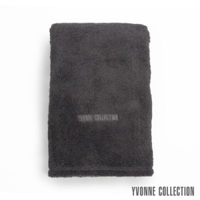 Yvonne Collection 棉柔大浴巾-石墨灰