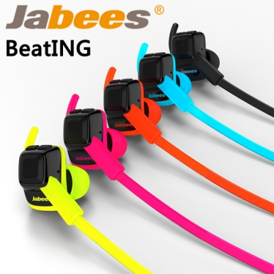 【Jabees】BeatING 藍牙運動型防水耳機