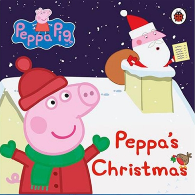 Peppa Pig:Peppa s Christmas 佩佩豬的聖誕節精裝硬頁書