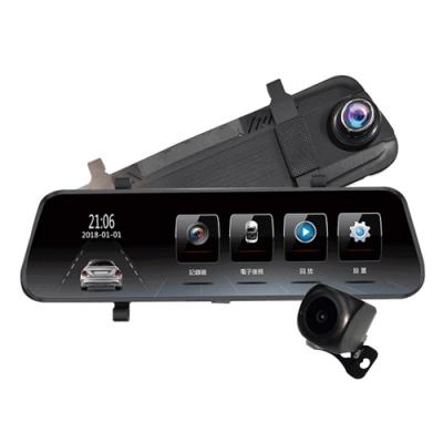 響尾蛇 FN-868 電子後視鏡行車紀錄器-快