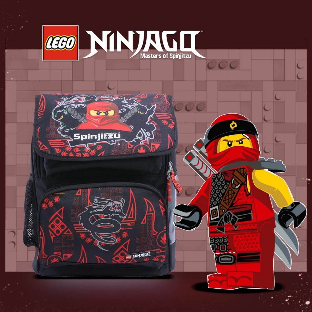 LEGO丹麥樂高書包Recruiter-紅忍者與龍 20069-1809