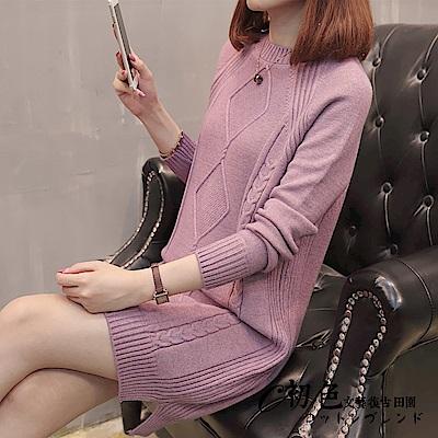 純色菱格紋洋裝-共6色(F可選)   初色