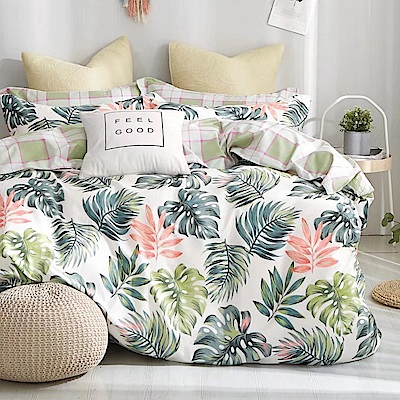 Ania Casa迷魅迷情 單人三件式 100%精梳棉 台灣製 床包被套純棉三件組