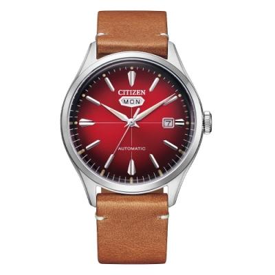 CITIZEN 星辰Mechanical經典C7休閒機械腕錶NH8390-11X