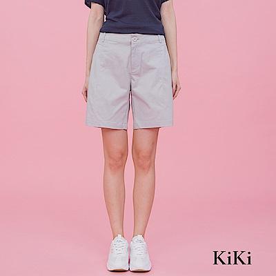 【KiKi】簡約休閒-短褲(共二色)