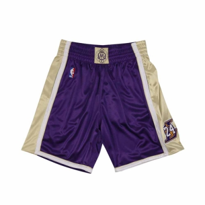 M&N Authentic球員版復古球褲 名人堂 湖人隊 96-16 #24 Kobe Bryant