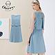 OUWEY歐薇 假兩件仿牛仔造型無袖洋裝(淺藍)3212078739 product thumbnail 1