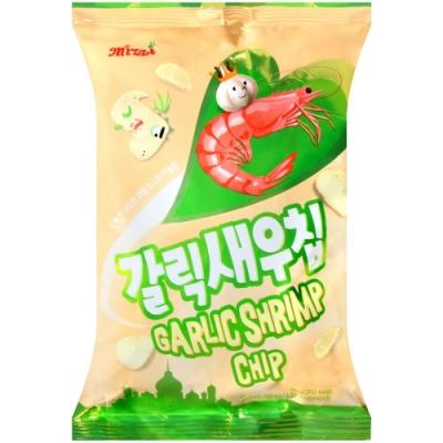 MIZZI MIZZI鮮蝦脆餅-蒜味(56g)