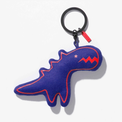 Sport b. 恐龍圖案鑰匙圈 (藍)